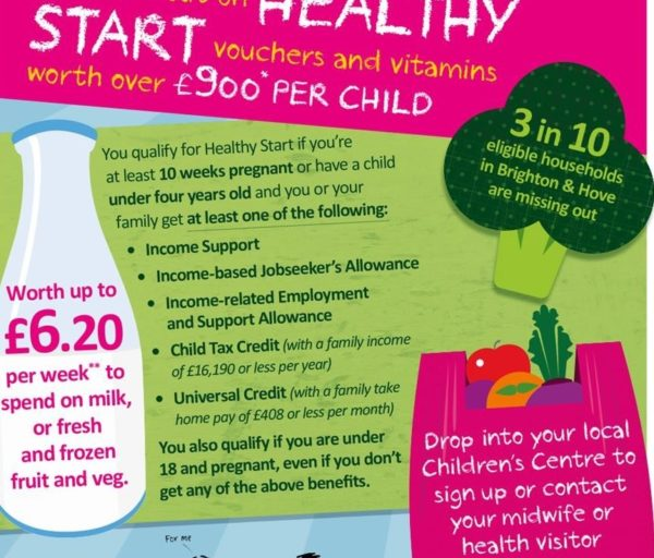 Healthy Start Voucher campaign image