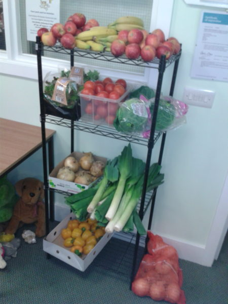 Food at Moulsecoomb food bank