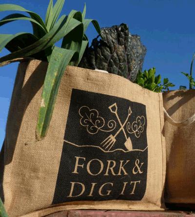 Fork & Dig It veg bag
