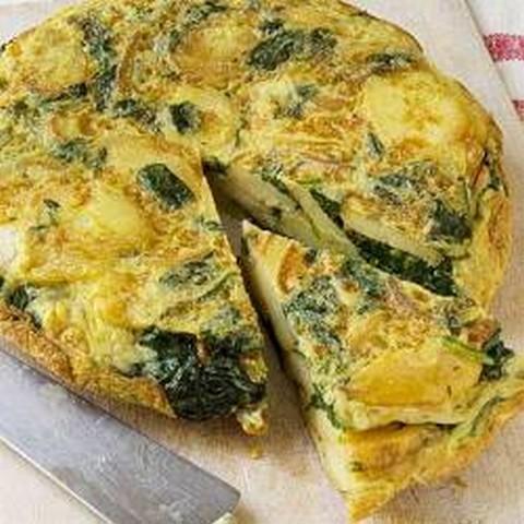 Spanish Egg Potato Omelette