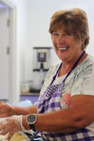 Volunteer at Purple people kitchen