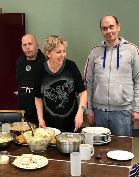 Gill Hudson, Food Hero