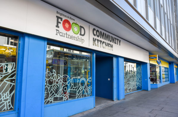 Community Kitchen front signage