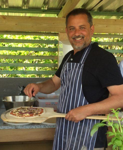 Luciano chef Tablehurst Farm