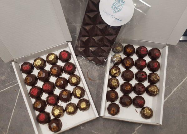 cocoa crystal chocolates
