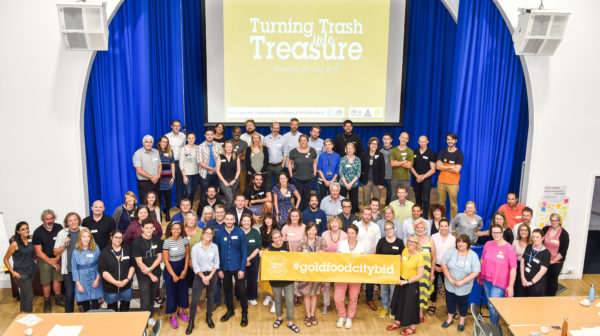 cturning trash into treasure event group pic