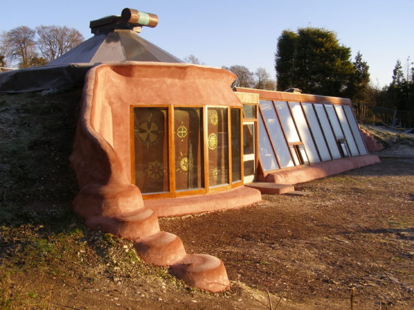 Stanmer Earthship