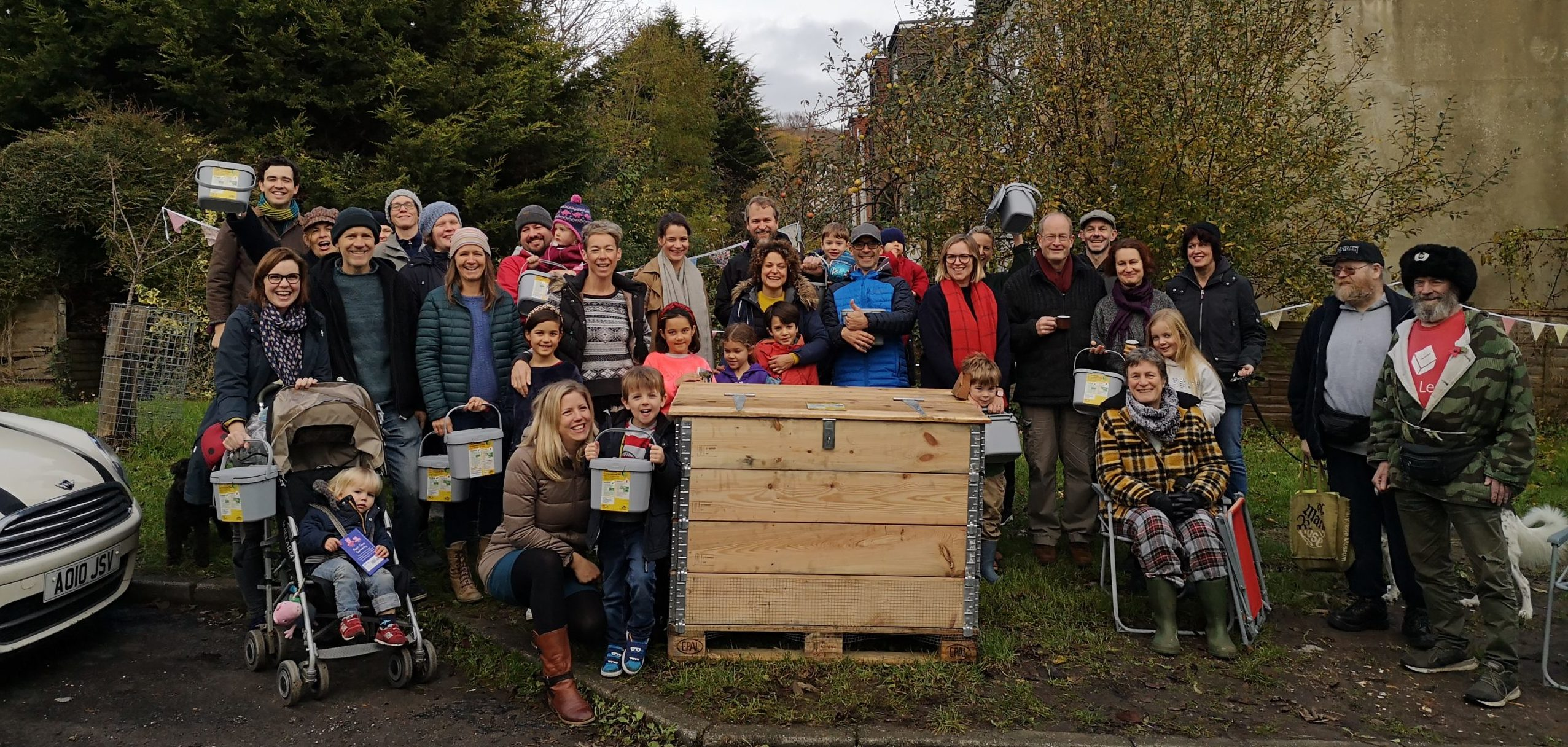composting site launch