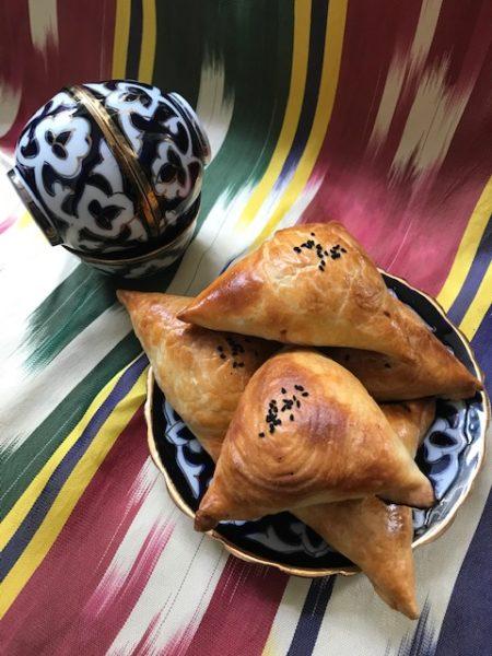 samsa pastry parcels