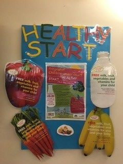 healthy start campaign display