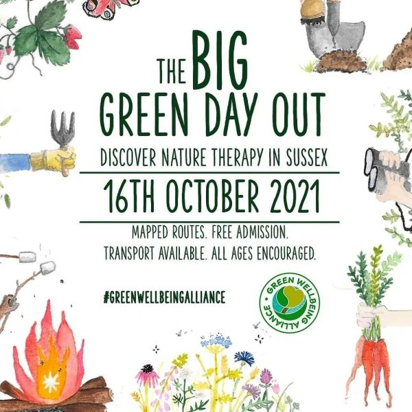 big green day out poster