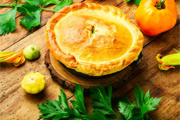 vegetarian pie for christmas
